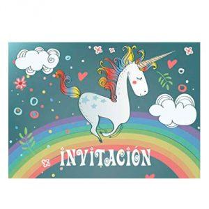 Tarjetas unicornio
