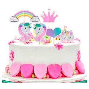 Tarta de unicornios